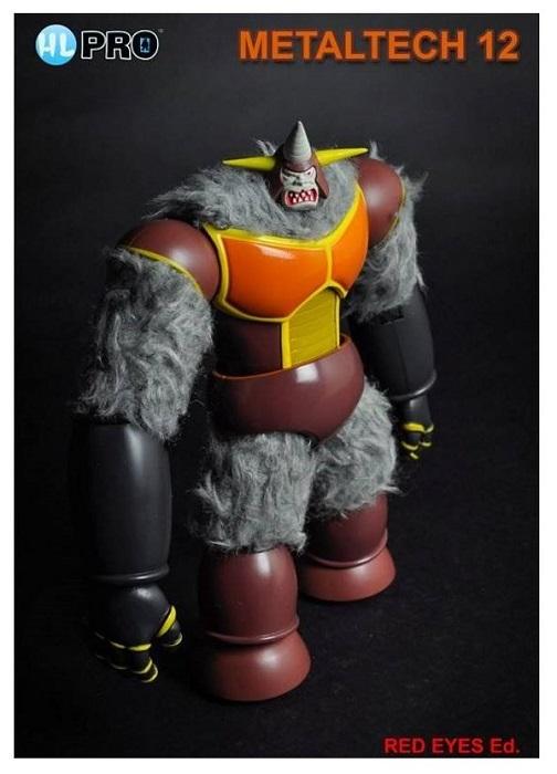 HL PRO Metaltech 12 - Ufo Robot Goldrake - KING GORI LIMITED RED EYES Action Figure 18 cm Metallo e Plastica Die Cast High Dreams