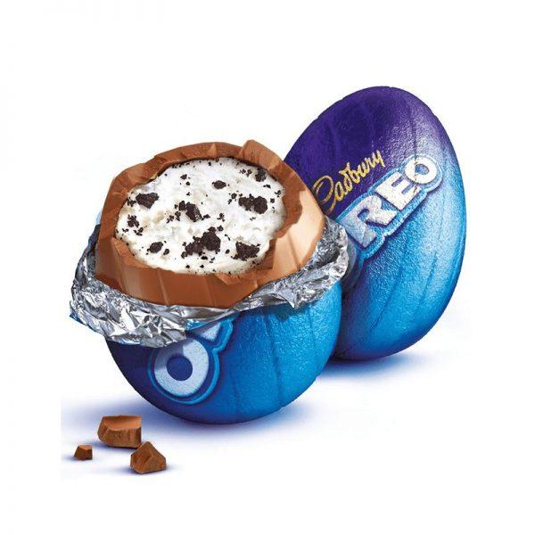 CADBURY OREO EGG - Ovetti di Cioccolato Ripieni Vaniglia e Biscotti Oreo 31g
