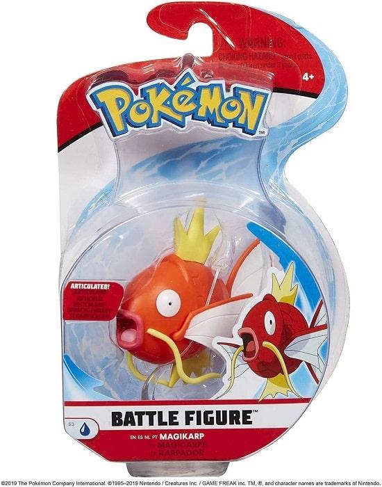 POKEMON Battle Figure S.3 - MAGIKARP - Figure 8cm Articolato - WCT Toys