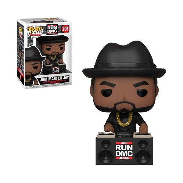 Funko Pop! Rocks - JMJ RUN DMC 4EVER #201 JAM MASTER JAY con PROTECTOR BOX - Figure in Vinile 9cm