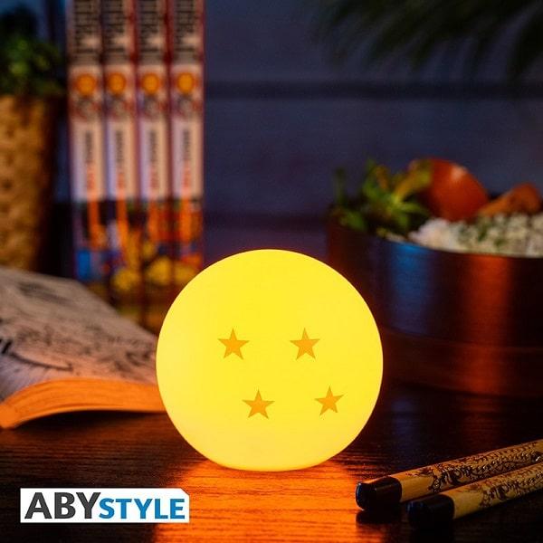 DRAGON BALL - SFERA DEL DRAGO Mini Lampada Led Notturna/Ambiente Diam. 8cm AbyStyle