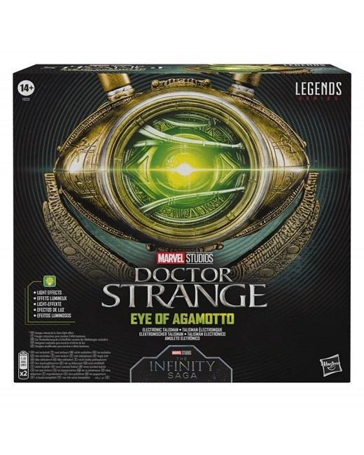 Marvel Legends DOCTOR STRANGE OCCHIO DI AGAMOTTO Replica Elettronico con Luce Led - HASBRO