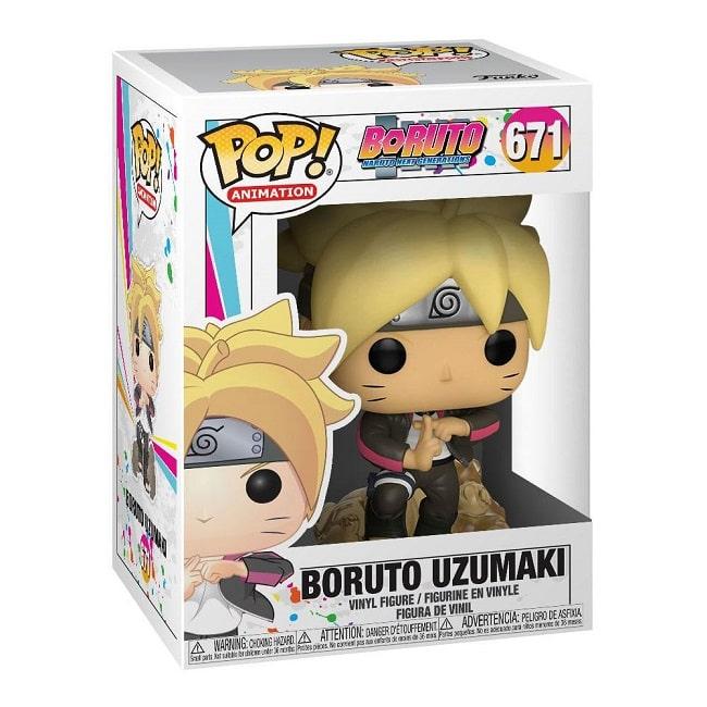 Funko POP! Naruto Next Gen. Boruto #671 BORUTO UZUMAKI con PROTECTOR BOX Figure in Vinile 9 cm