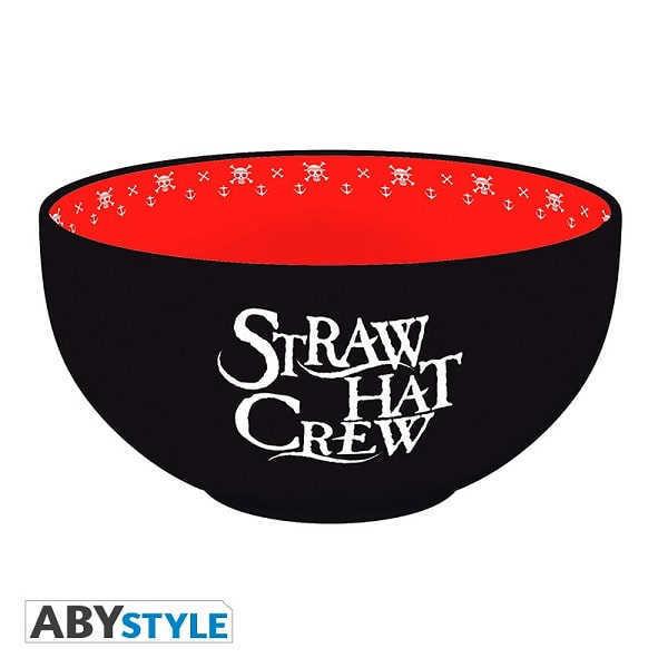 ONE PIECE - SKULLS Bowl per Poke Ciotola Tazza in Ceramica 600 ml - Abystyle