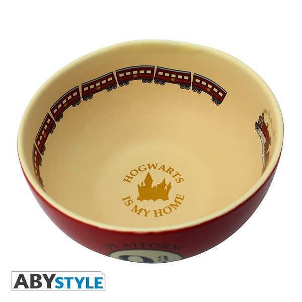 HARRY POTTER - BINARIO 9 3/4 Bowl per Poke Ciotola Tazza in Ceramica 600 ml - Abystyle