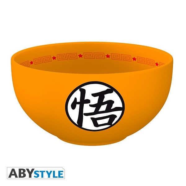 DRAGON BALL - SIMBOLI DI GOKU Bowl per Poke Ciotola Tazza in Ceramica 600 ml - Abystyle