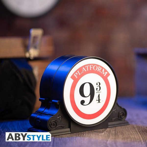 HARRY POTTER - BINARIO 9 3/4 Lampada Led da Ambiente Notturna 11cm Batteria - AbyStyle