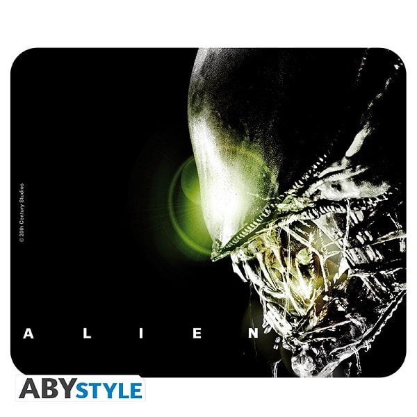 MOUSEPAD - ALIEN Tappetino Per Mouse 24x20cm in Tessuto - Abystyle