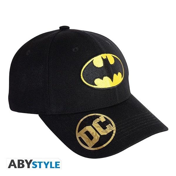 DC COMICS - BATMAN - Berretto Cappello Taglia Unica Regolabile Visiera Curva - Baseball Cap