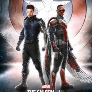 MARVEL FALCON AND WINTER SOLDIER - WIELD THE SHIELD - Maxi Poster #314 - 61x91 cm su carta da 150gr