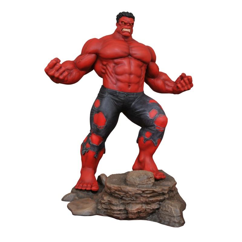 Marvel Gallery - RED HULK Statua Diorama in PVC 25 cm - Diamond Select