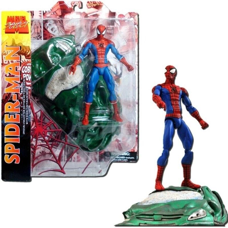 Marvel Select - SPIDER-MAN L'Uomo Ragno - Action Figure 18cm Articolata Diamond Select
