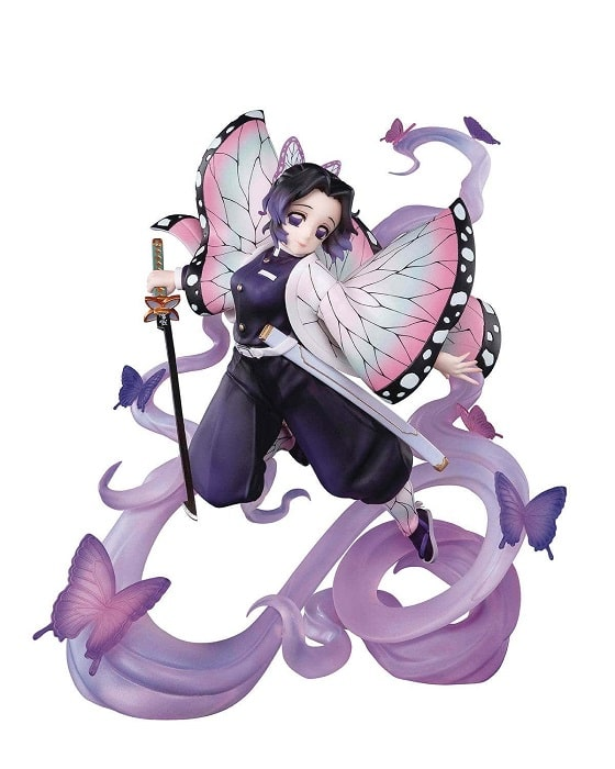 DEMON SLAYER - SHINOBU KOCHO INSECT Figuarts ZERO Figure Statua in PVC 18cm BANDAI