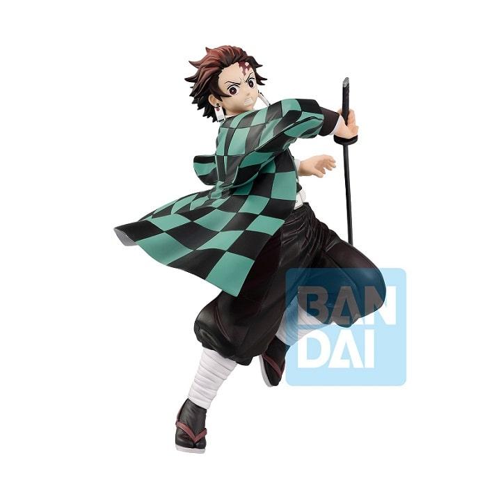 DEMON SLAYER Mugen Train - TANJIRO KAMADO Ichibansho Figure Statua in PVC 18cm BANDAI