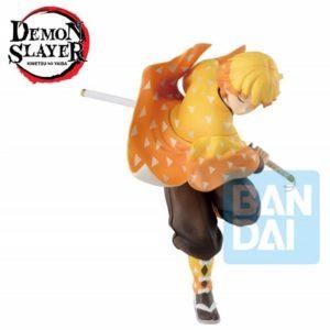 DEMON SLAYER Mugen Train - ZENITSU AGATSUMA Ichibansho Figure Statua in PVC 16cm BANDAI