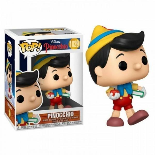 Funko Pop! Disney - Pinocchio #1029 PINOCCHIO SCHOOL BOUND con PROTECTOR BOX Figure in Vinile 9cm