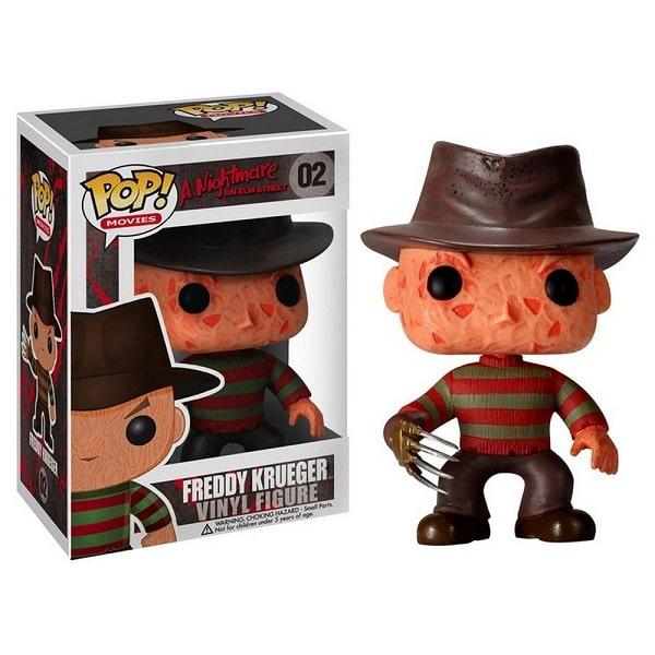 Funko POP! Movies - Nightmare on Elm Street #02 FREDDY KRUEGER con PROTECTOR BOX Figure in Vinile 9 cm