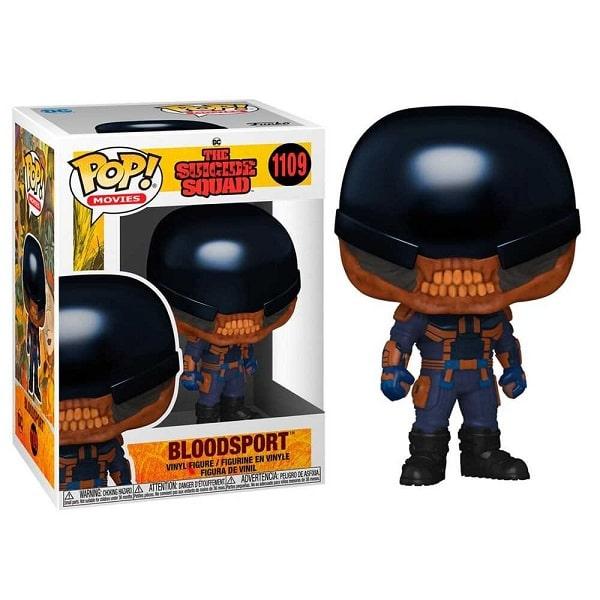 Funko Pop! Movies - Suicide Squad #1109 BLODSPORT con PROTECTOR BOX Figure in Vinile 9cm